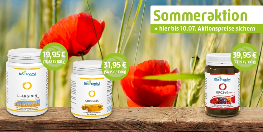 BioProphyl Sommeraktion 2017